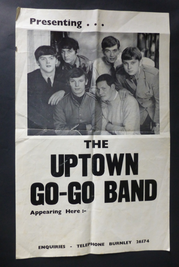 The definitive lineup of the Uptown Go-Go band with Barrie on vocals, Mike on guitar, Don on keyboard, Ken on sax, and with new members Barry Trickett on drums and Joe Madden on bass